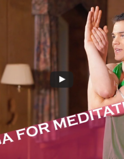 Guided Yoga for Meditation Video