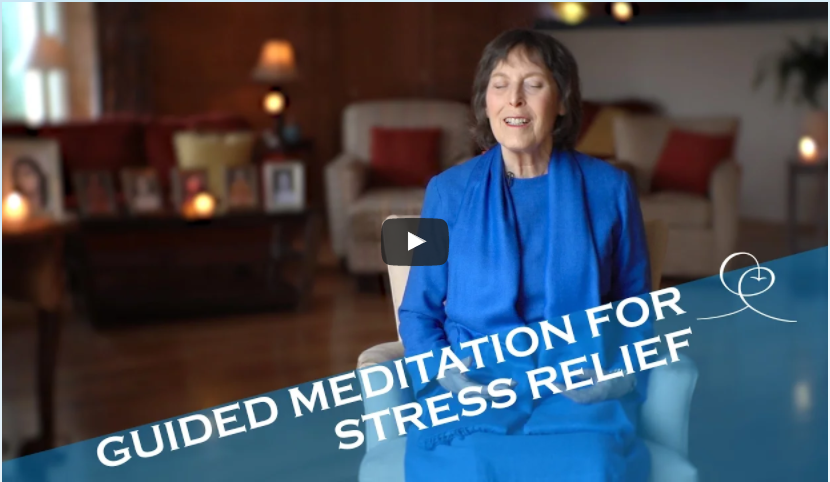 Guided Meditation for Stress Relief - Ananda School of Yoga and Meditation
