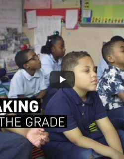 PBS Newshour Meditation in Baltimore Public Schools