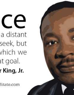 Martin Luther King Be the Change